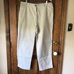 L.L. Bean Khaki Original Fit 18P Pants